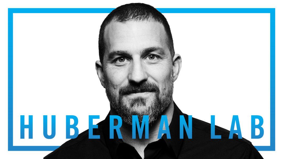 Huberman Lab Podcast Trailer Title Card