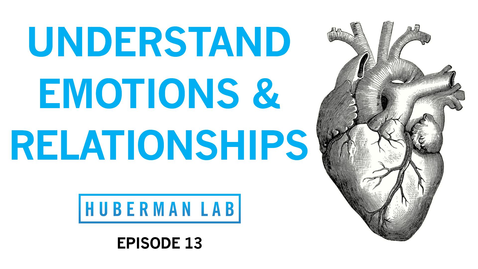 Huberman Lab Podcast Episode 13 Title Card