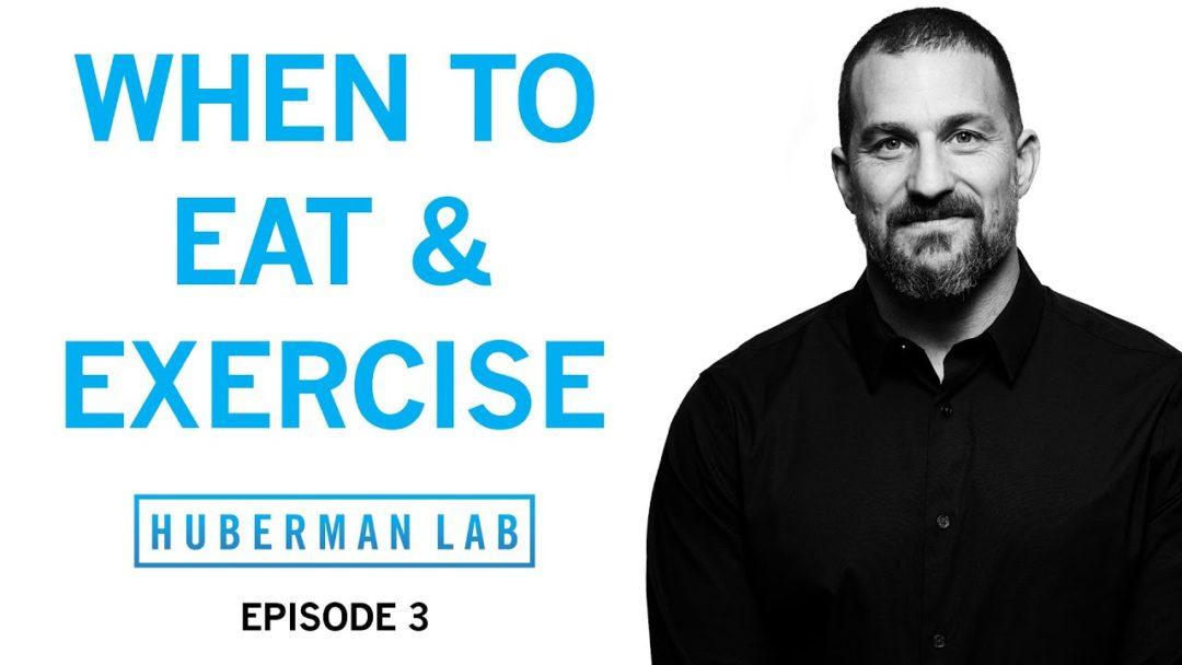 Huberman Lab Podcast Episode 3 Title Card