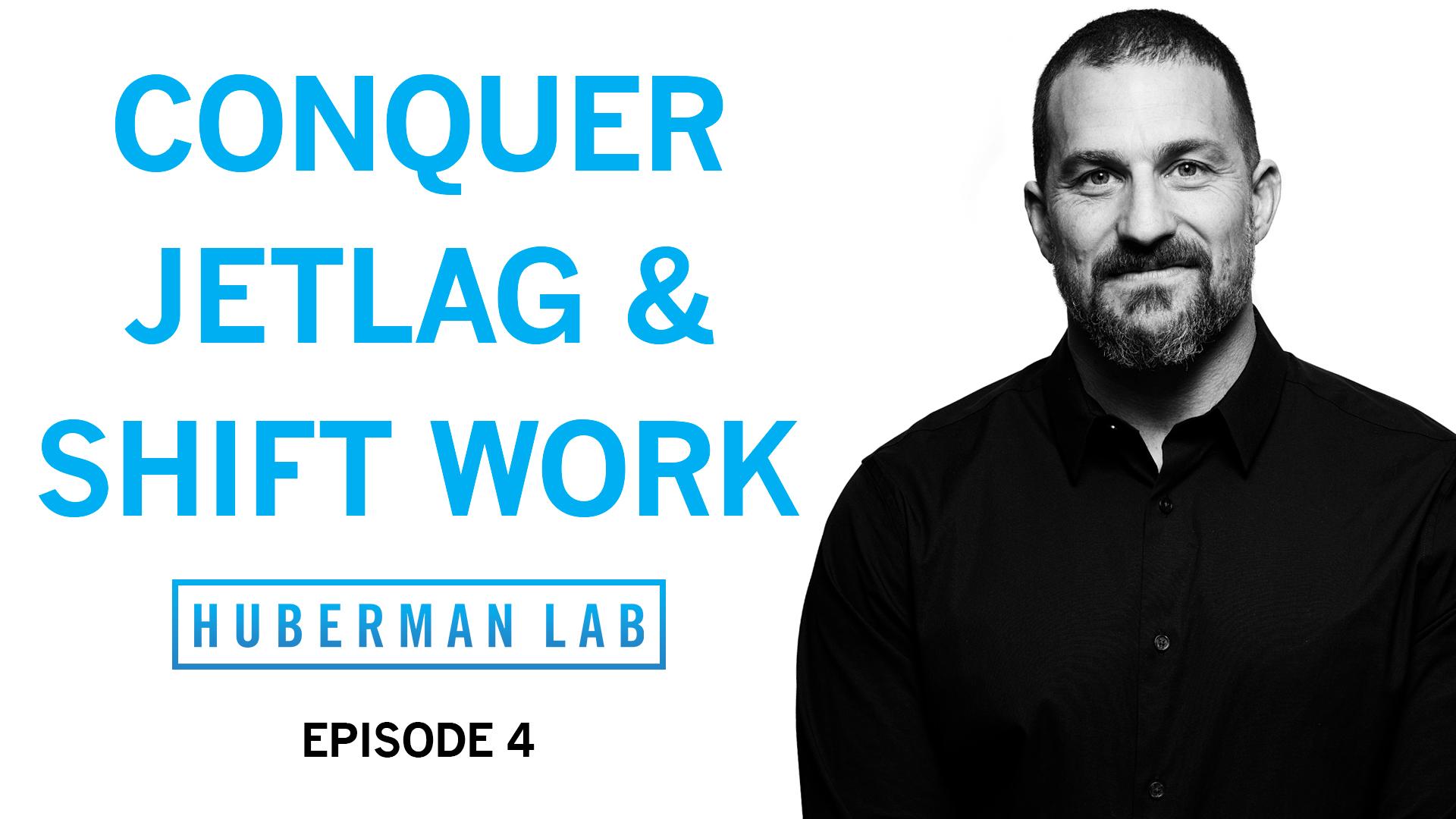 Huberman Lab Podcast Episode 4 Title Card