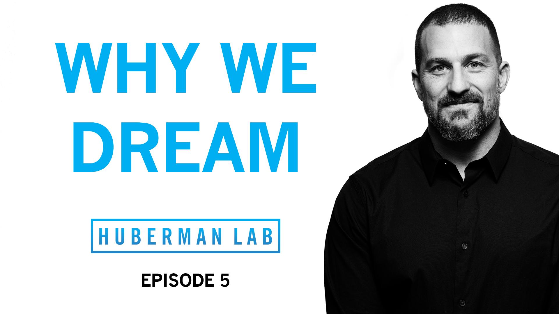 Huberman Lab Podcast Episode 5 Title Card