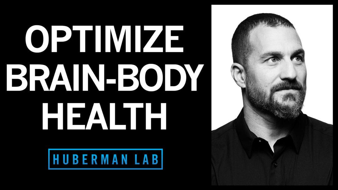 Huberman Lab Podcast Episode 30 Title Card